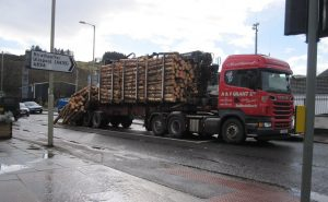 Lorry carying load -Driver CPC
